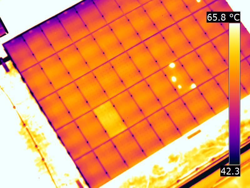 Fehler An Pv Anlagen Mit Thermografie Detektieren