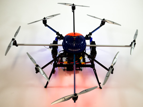 Thermografie Drohne Thermocopter PI 640