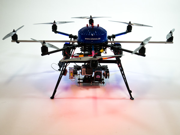 Thermografie Drohne Thermocopter PI640 ARF